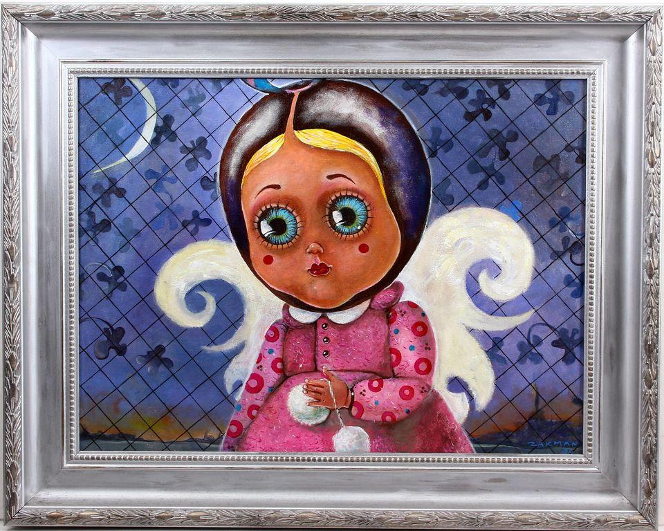 Meitene-eņģelis