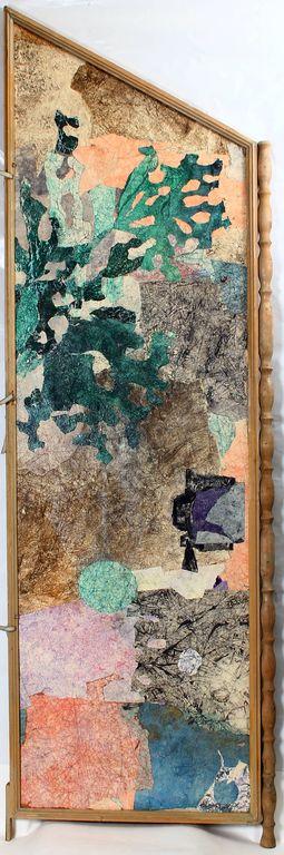 Aizslietnis ar abpusējiem, dažādu motīvu gleznojumiem