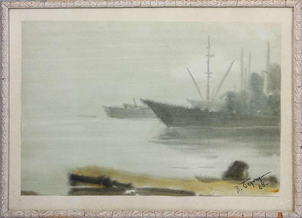 Kuģis ostā