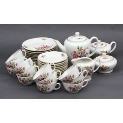 Porcelain tea / coffee set for 12 people
