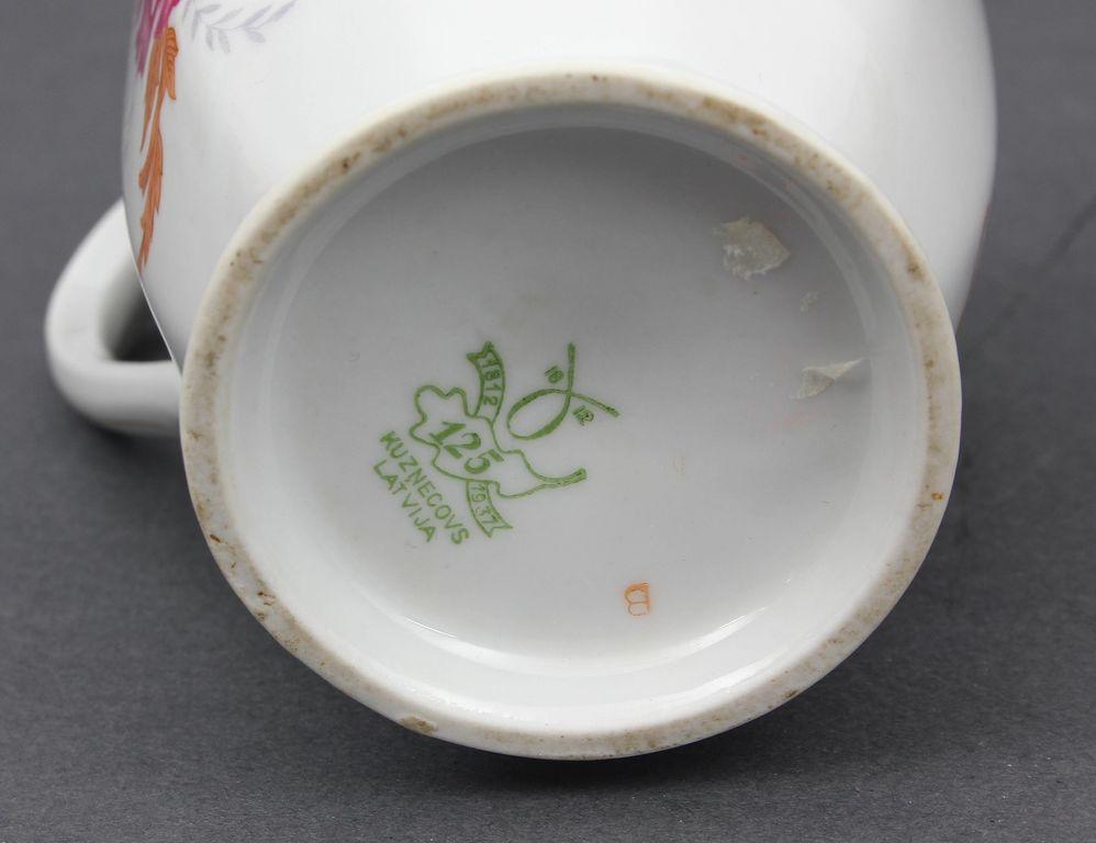 Porcelāna krējuma trauciņš