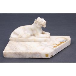Marble inkstand