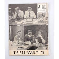 Žurnāls literatūrai, Baltijas tautu kultūrai, jaunatnei - nākotnei ''Treji vārti