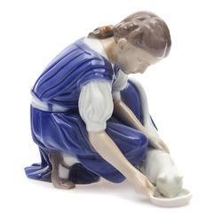 B&G Kopenhāgenas porcelāna figūra