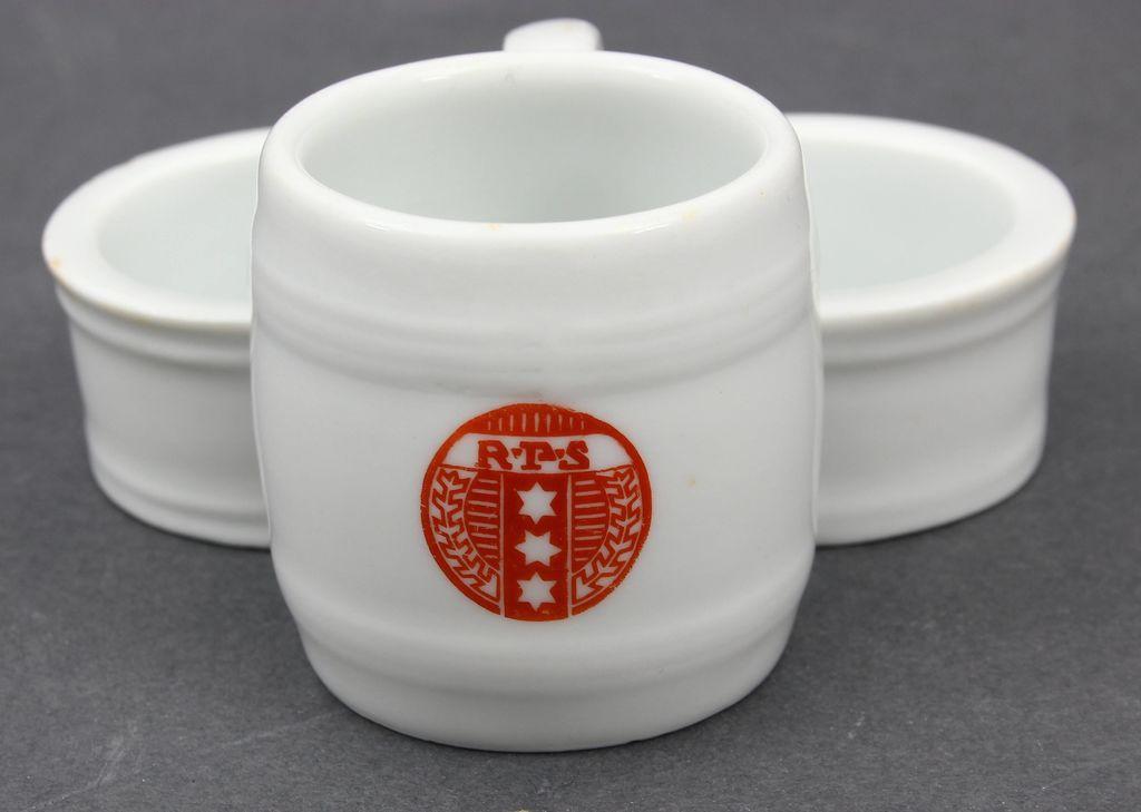 Porcelāna garšvielu trauks