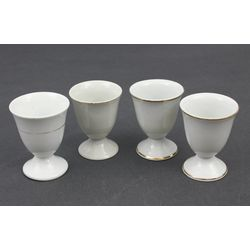 Porcelain egg utensil's 4 pcs.