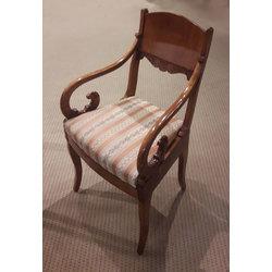 Bīdermeijera stila krēsli (4 gab.)