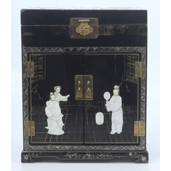 Chinese box / chest with mother of pearl