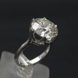 Zelta gredzens ar briljantu 8.29 ct