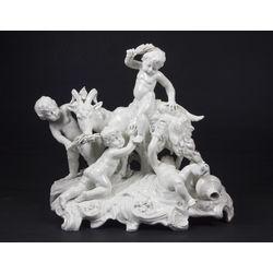 Роял Виенна  фарфоровая композиция
