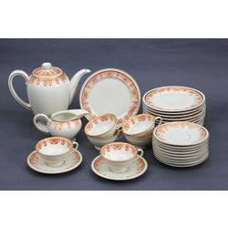 Porcelain dinner set (not full)