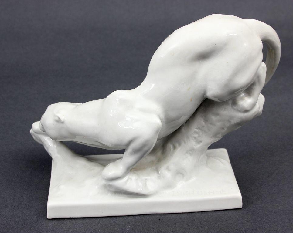 Porcelāna figūra Pantēra