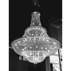 Exclusive chandelier pair