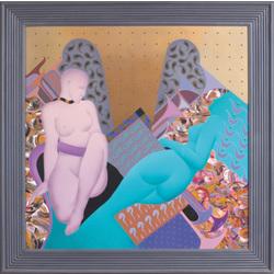 Divas dekoratīvās sievietes atpūtā