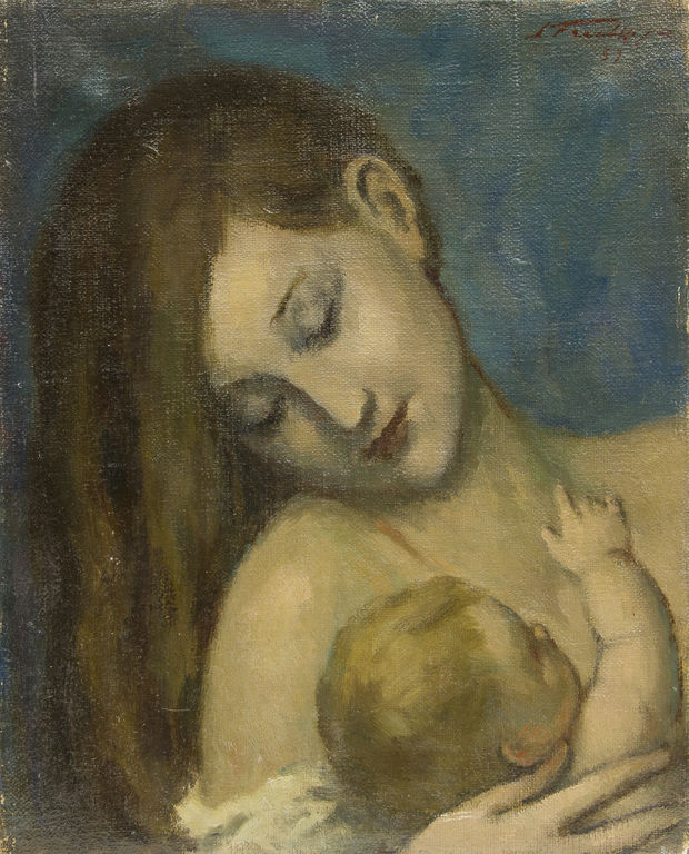 Māte ar bērnu