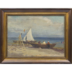 Zvejnieki laivā