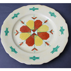 Ornamental Porcelain Plate