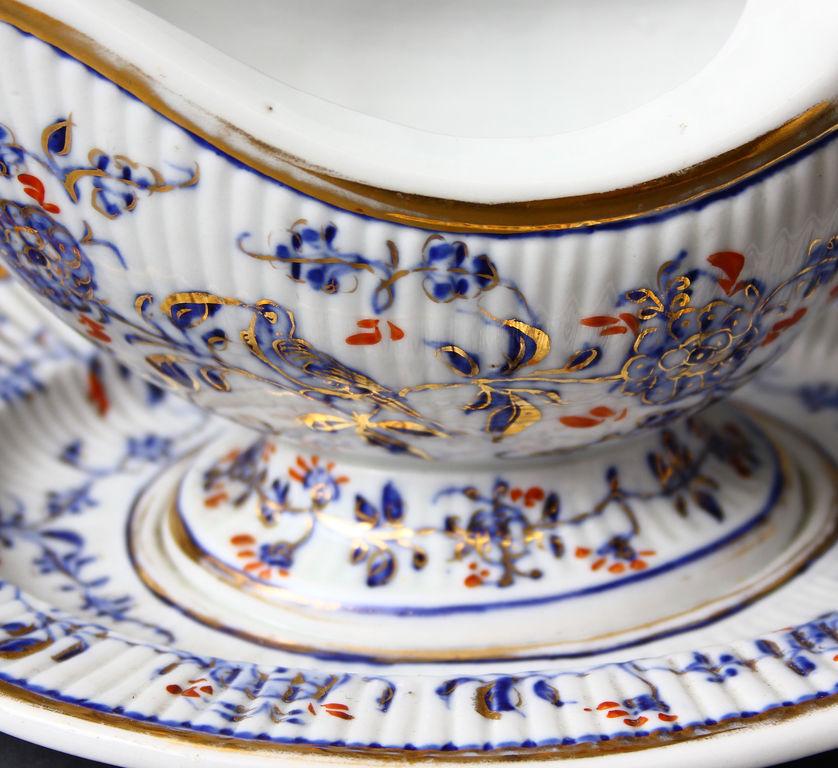Porcelain sauceboat
