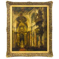 Baznīcas interjers (St. Michael Bei Munchen)