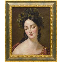 Jaunas sievietes portrets