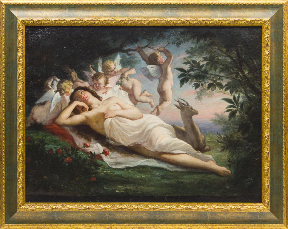 Allegory with Angels