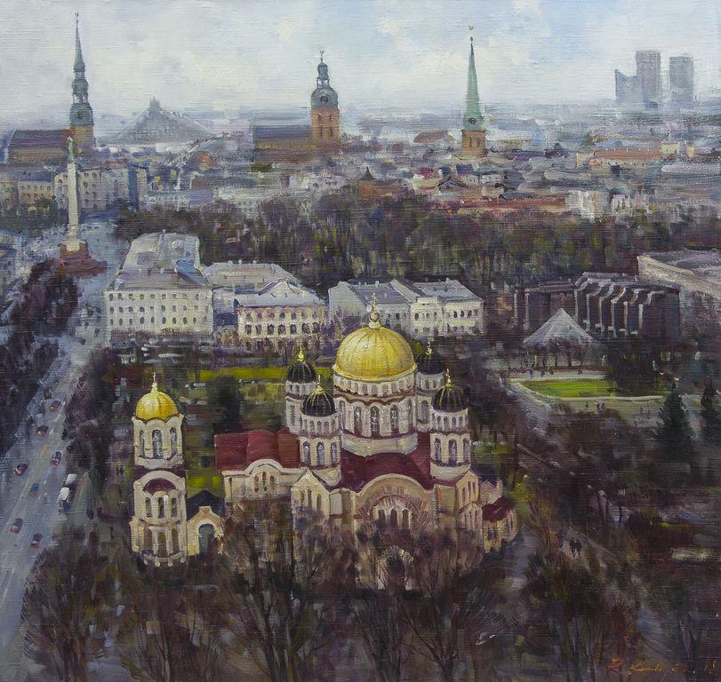 Skats uz Rīgas centru