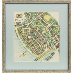 Rīgas pilsētas plāns