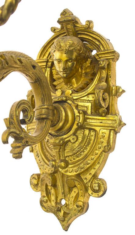 19.gadsimta franču bronzas bra (2 gab.)