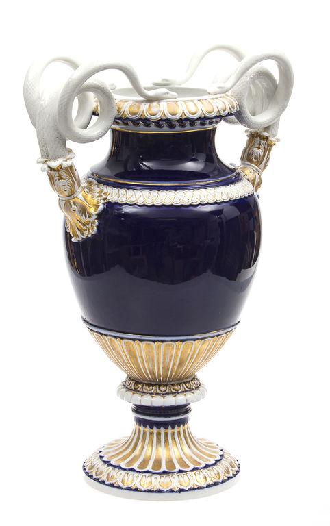 19. gadsimta otrās puses Miesenes porcelāna vāze