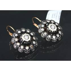 Earrings with brilliants