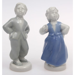"Couple of porcelain figurines ""Dancers"""