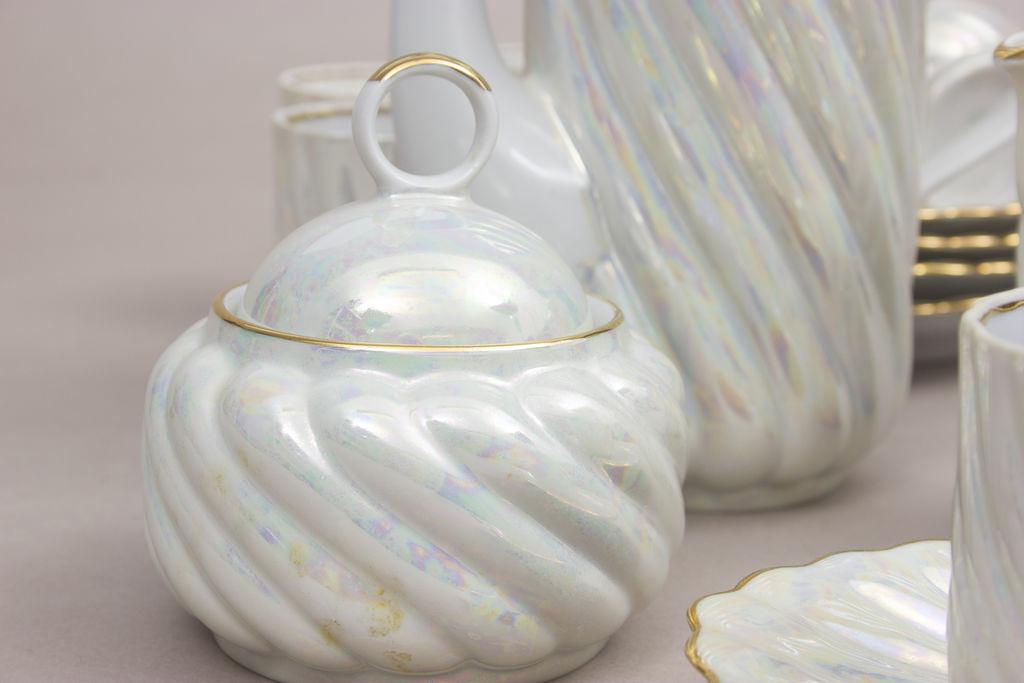Porcelāna servīze sešām personām