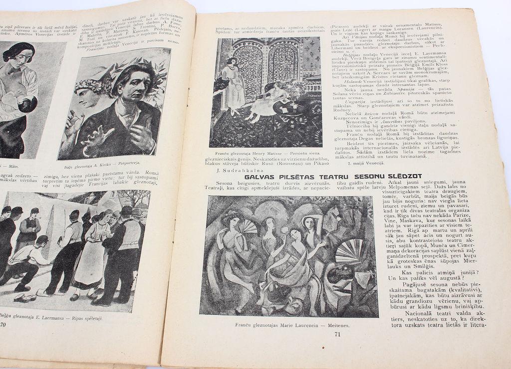 Pusmēneša meti literatūrai, mākslai un sabiedriskai dzīvei
