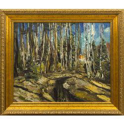 Meža ainava (Pavasaris)