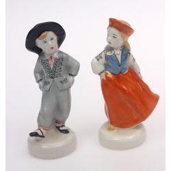 Porcelāna figūriņu pāris