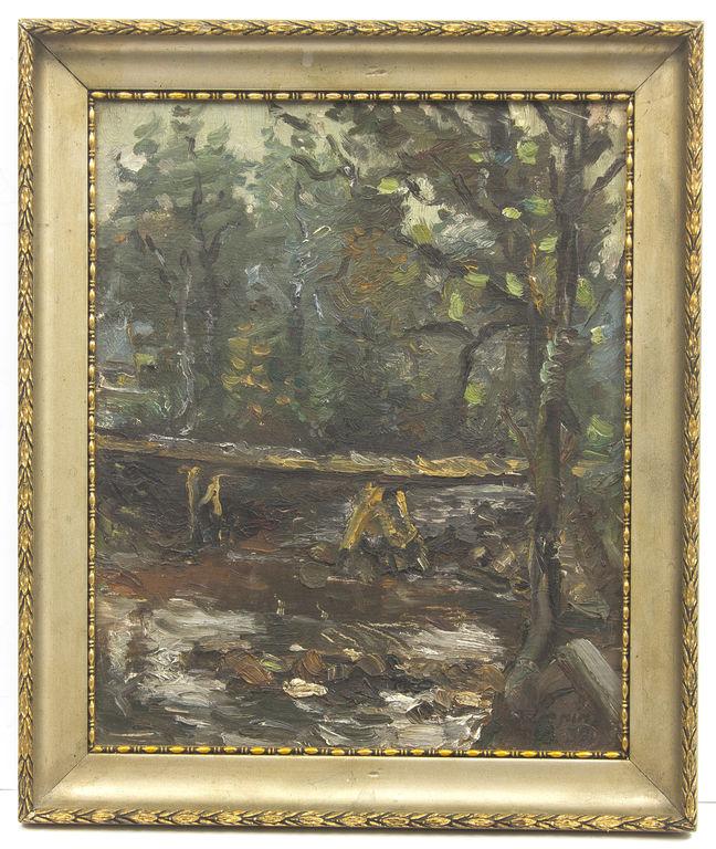 Tiltiņš mežā