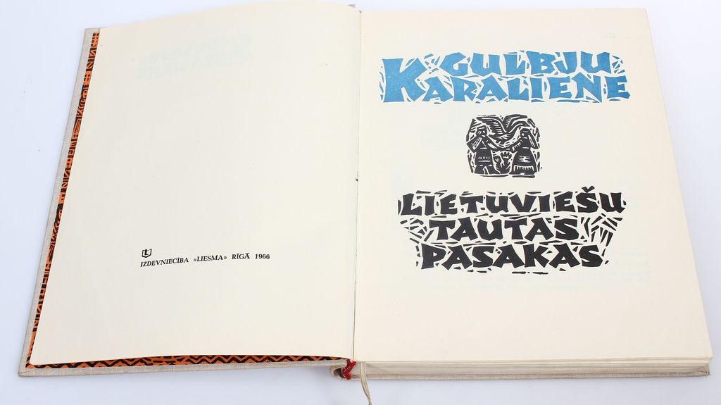 Gulbju karaliene(lietuviešu tautas pasaka)