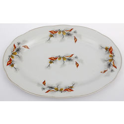 Porcelain Serving Tray