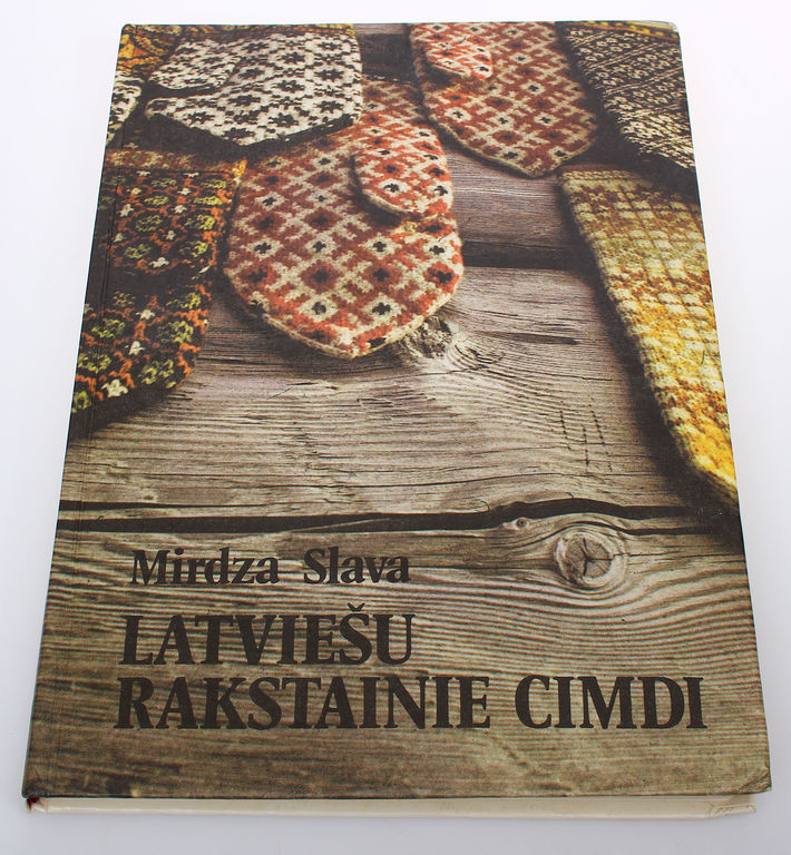 Mirdza Slava, Latviešu rakstainie cimdi
