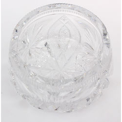 Crystal sugar-basin
