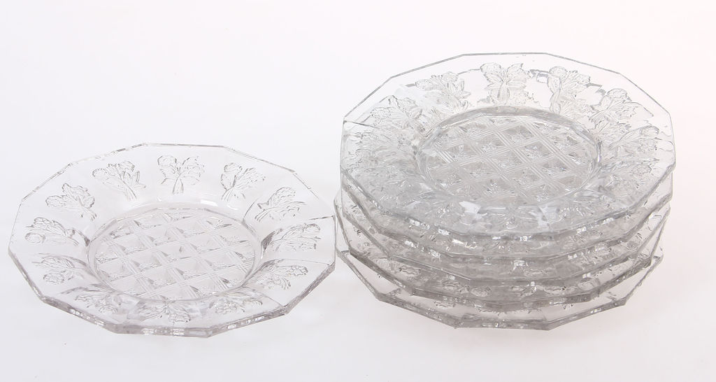 Stikla servējamie trauciņi 6 gab.