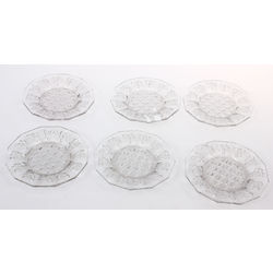 Glass serving dishes 6 pcs.