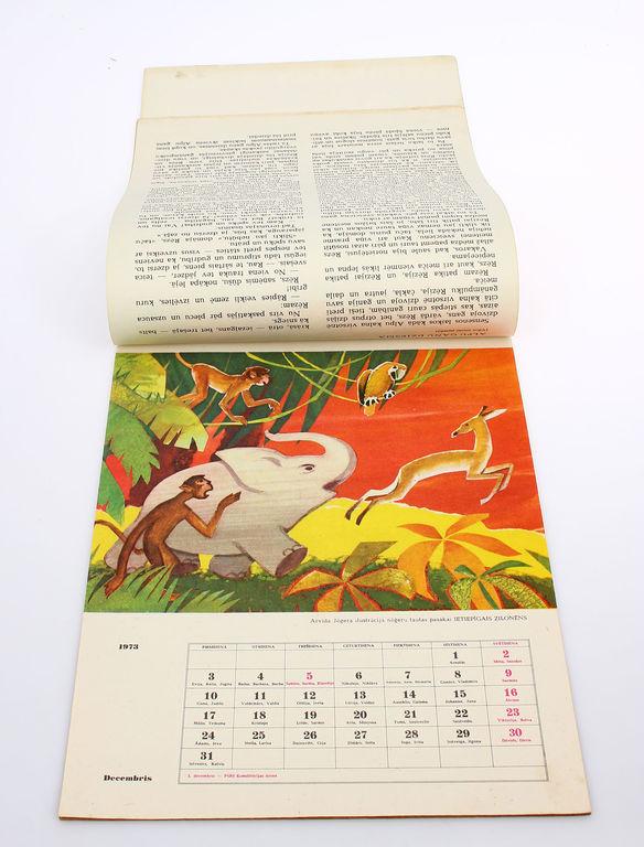 Pasaku kalendārs 1973