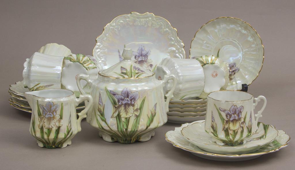 Porcelāna tējas servīze 6 personām