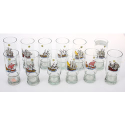 Glass glasses 12 pcs.