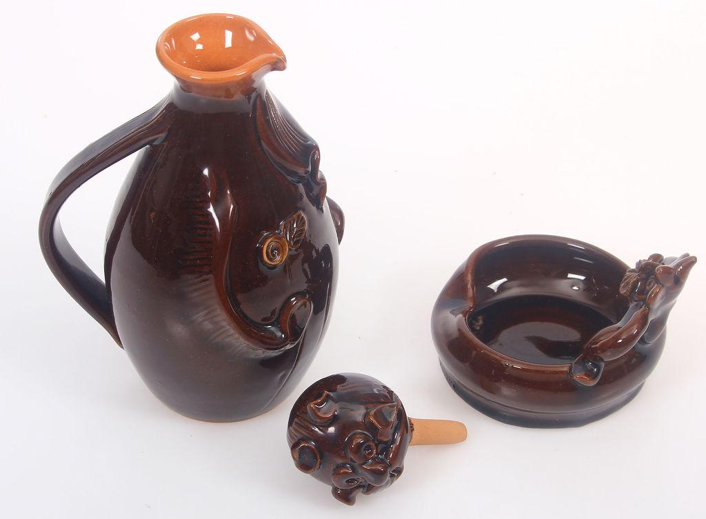 Keramikas komplekts - trauciņš un karafe