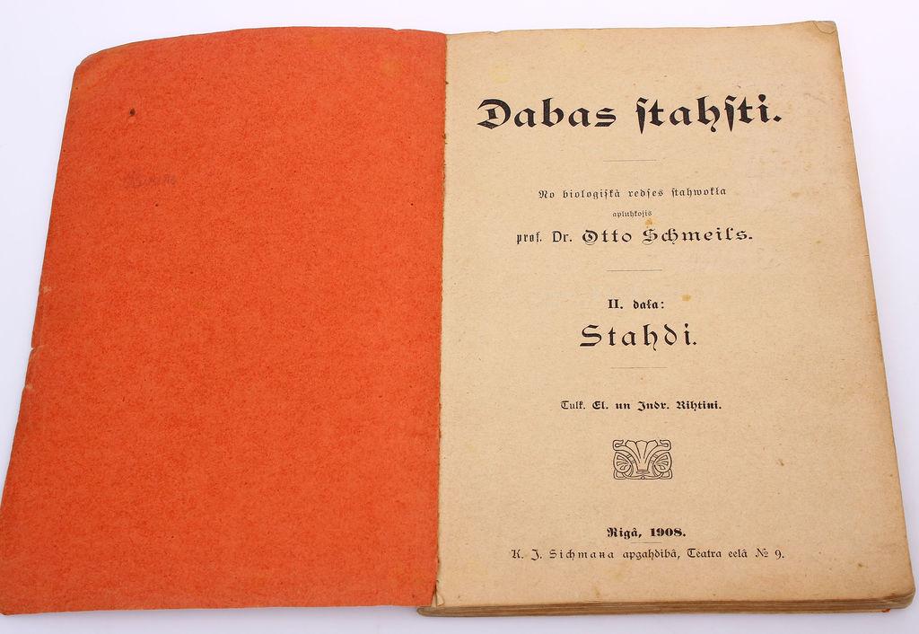 Otto Šmeils, Dabas stāsti