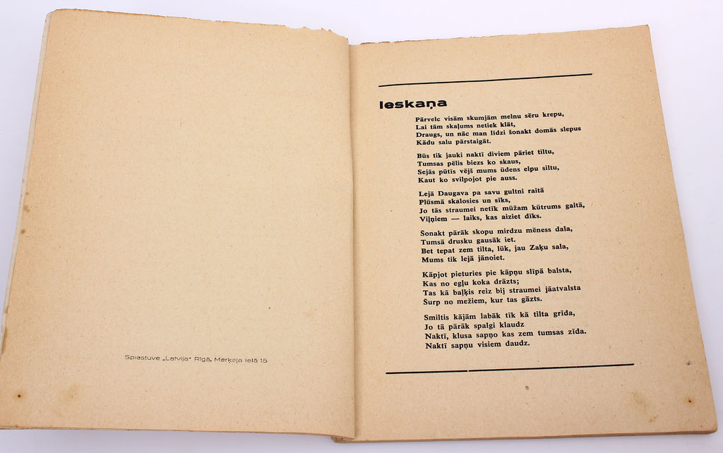 Zaķu sala(poēma), Alberts Birzmalnieks