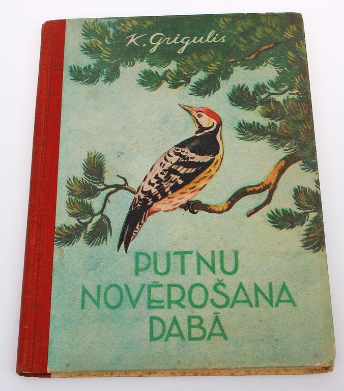 K.Grigulis, Putnu novērošana dabā