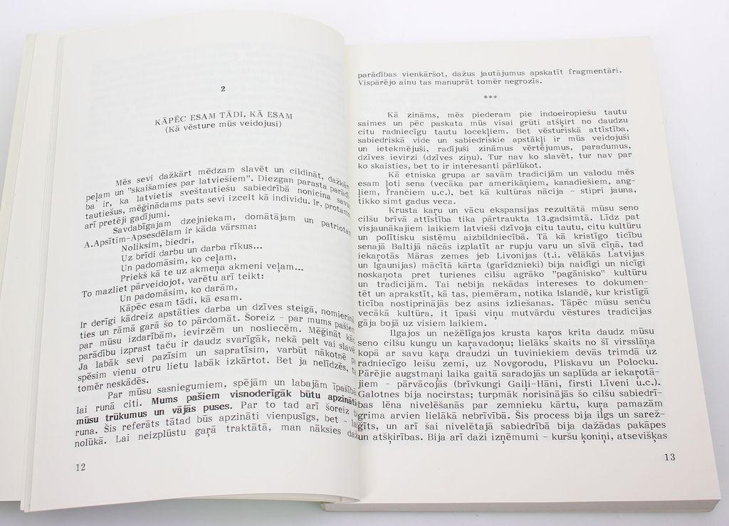 Uldis  Ģērmanis, Zināšānai(raksti par mūsu un padomju lietām)